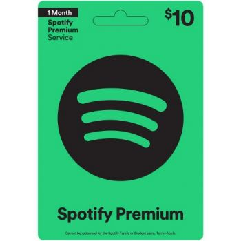 Spotify Gift Card $10